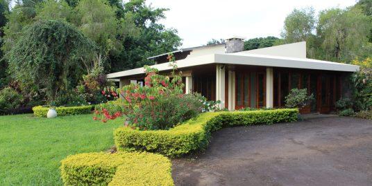 Belle maison de plein pied de 450 m2 sur un terrain de 1 arpent 15 située dans un quartier hautement résidentiel de Floréal